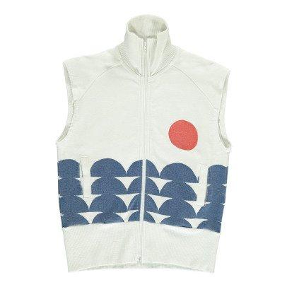 Bobo Choses Organic Cotton Rowing Sleeveless Sweatshirt-product
