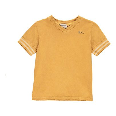 Bobo Choses Organic Cotton Jamaica V-Neck T-Shirt-listing