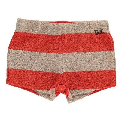 Bobo Choses B.C Striped Sweat Shorts-listing