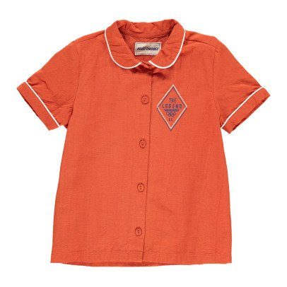 Bobo Choses Legend Percale Burn Out Shirt-listing