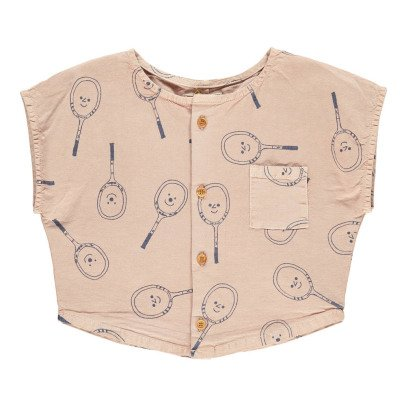 Bobo Choses Tennis Racket Button-Up Blouse-listing