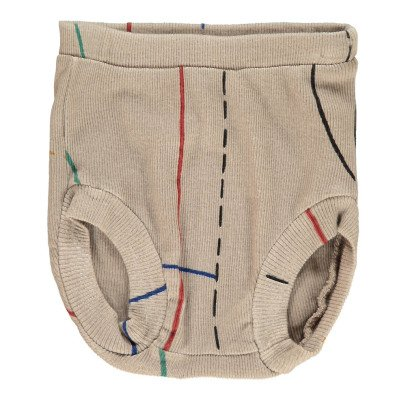 Bobo Choses Organic Cotton Ribbed Bloomers-listing