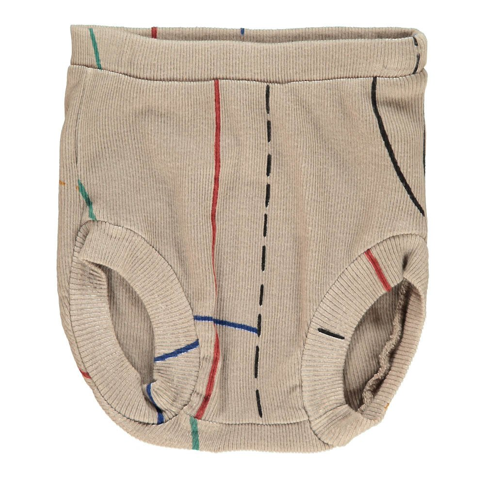 Bobo Choses Organic Cotton Ribbed Bloomers-product