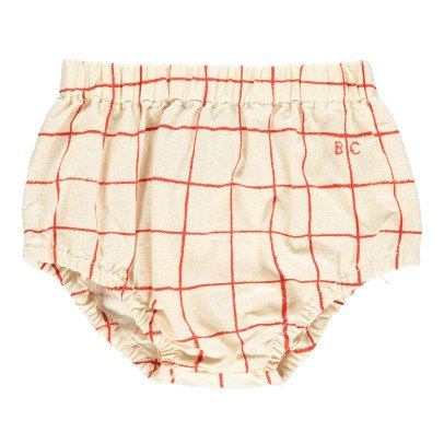 Bobo Choses B.C. Embroidered Check Bloomers-listing
