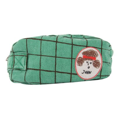 Bobo Choses John Patchwork Checked Pencil Case-listing
