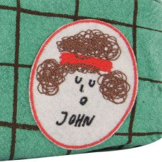 Bobo Choses John Patchwork Checked Pencil Case-product
