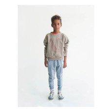 Bobo Choses Organic Cotton Toboggan Sweatshirt-listing
