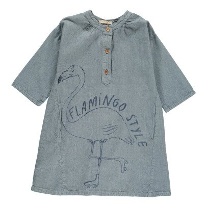 Bobo Choses Flamingo Dress-listing
