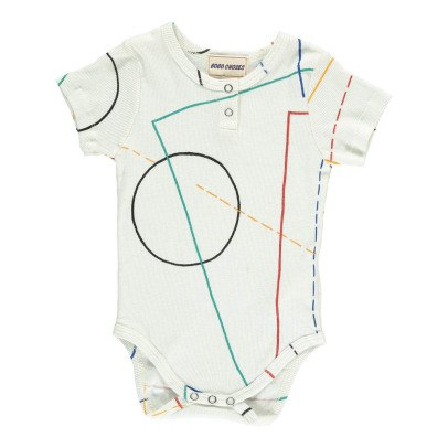 Bobo Choses Organic Cotton Ribbed Babygrow-listing