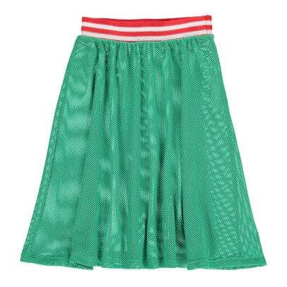 Bobo Choses Nadia Transparent Net Midi Skirt-product