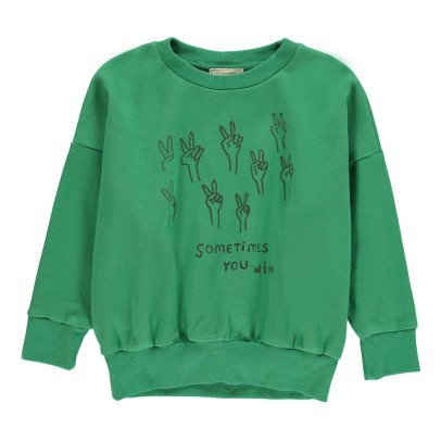 Bobo Choses Organic Cotton Podium Sweatshirt-listing