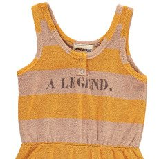 Bobo Choses A Legend Striped Sweat Playsuit-listing