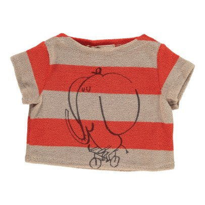 Bobo Choses The Cyclist Striped Sweat T-Shirt-product