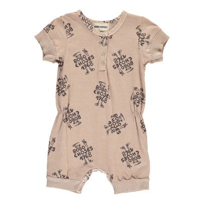 Bobo Choses AO 1968 Organic Jersey Playsuit-product