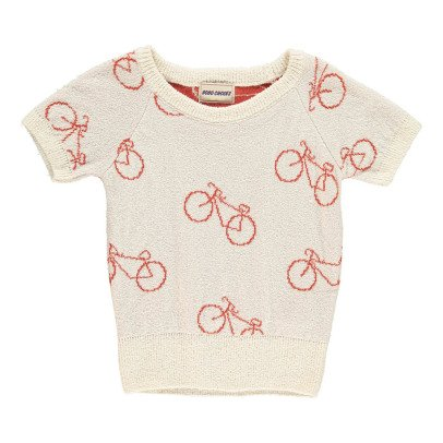 Bobo Choses The Cyclist MC Crepe Jumper-listing