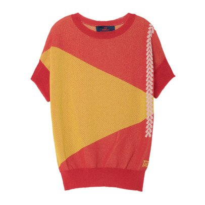 The Animals Observatory Kurzarm Pullover Bug -product