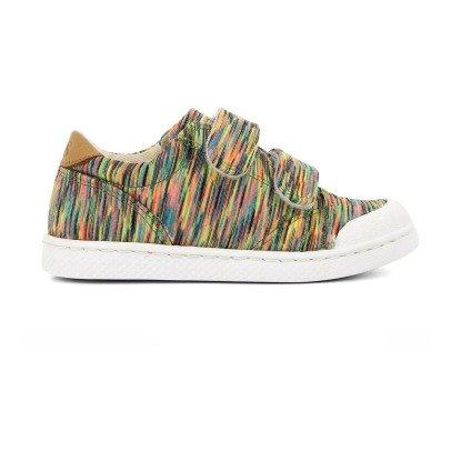 Baskets Basses à Scratchs Arty Multicolore