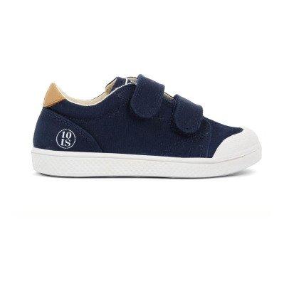 10 IS Zapatillas Bajas Velcro Azul Marino-listing