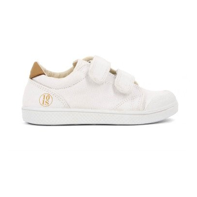 10 IS Sneakers Basse Velcro Bianco-listing