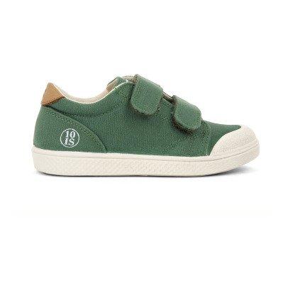 10 IS Sneakers Basse Velcro Verde-listing