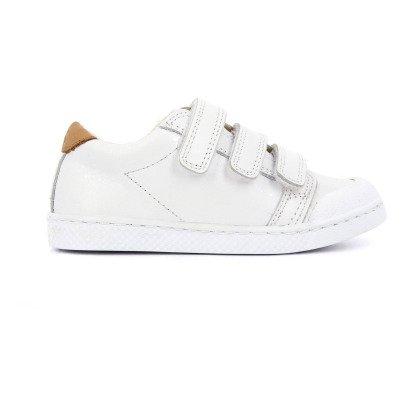 10 IS Zapatillas Cuero Bajas Blanco-listing