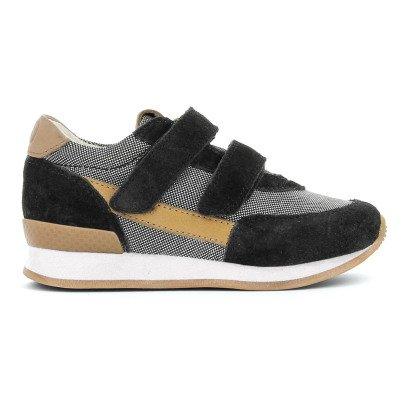 10 IS Zapatillas Bajas Velcro Ten Jog Negro-listing