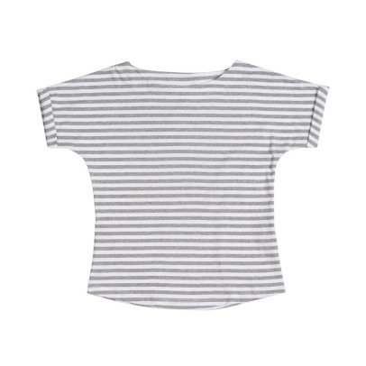 Gray Label Rolled Sleeve Striped T-Shirt-product