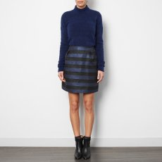 ANECDOTE Cleo Funnel Neck Jumper Royal blue-listing