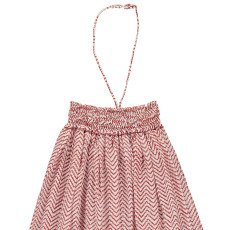Sunchild Zanzibar Smocked Long Bustier Dress-listing