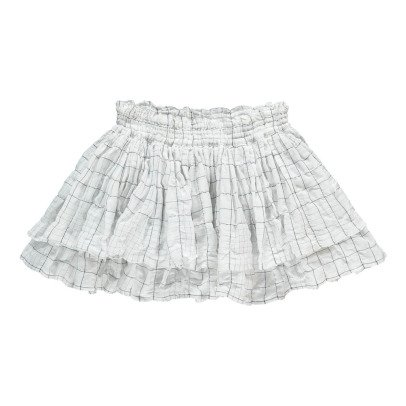 Morley Margot Checked Frilly Skirt-listing