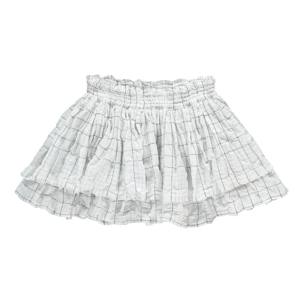 Margot Checked Frilly Skirt-product