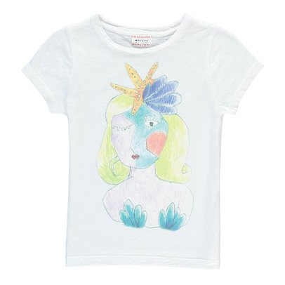 Morley T-shirt Sirène Flip-listing