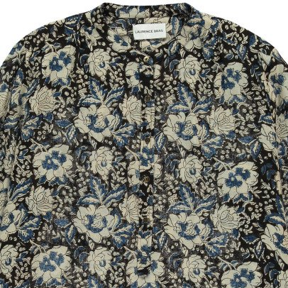 Laurence Bras Bicycle Floral Blouse-listing