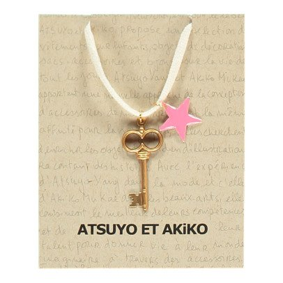 Atsuyo et Akiko Collar Llave Estrella-listing