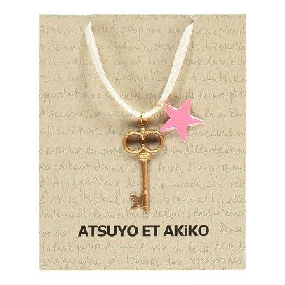 Atsuyo et Akiko Collier Clé Etoile-listing