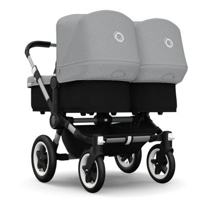 Bugaboo Kinderwagen DONKEY TWIN Aluminium/Kunstleder-listing