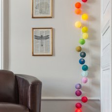 La case de cousin Paul Tao Tong garland - 20 luminous balls-listing