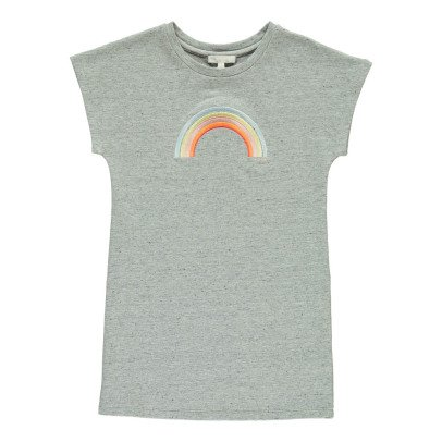 Chloé Embroidered Rainbow Fleece Dress-product