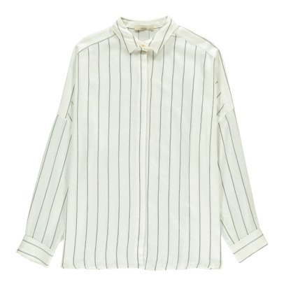 Sessun Ma Darling Striped Oversize Shirt-listing