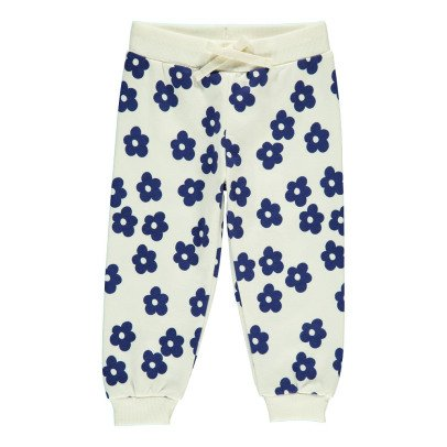 Mini Rodini Organic Cotton Floral Jogging Bottoms-listing