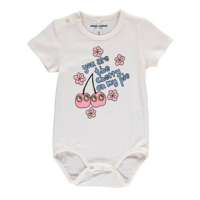Mini Rodini Organic Cotton Cherry Babygrow-product