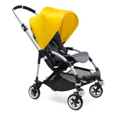 Bugaboo Poussette complète BEE³ châssis Alu, assise grise, jaune-listing