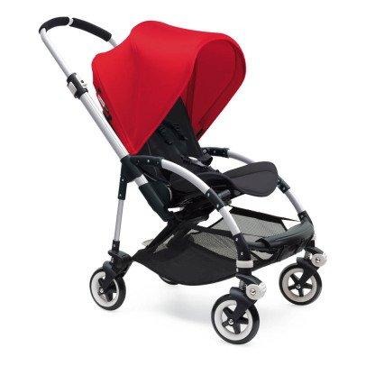 Bugaboo Cochecito completo  BEE³ chasis aluminio, asiento negro, rojo-listing