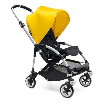 Bugaboo Poussette complète BEE³ châssis Alu, assise noire, jaune-listing