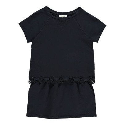 Chloé Embroidred Detail 2-in-1 Fleece Dress-listing