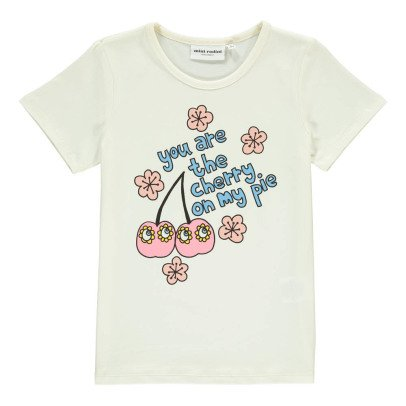 Mini Rodini Organic Cotton Cherry T-Shirt-listing