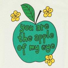 Mini Rodini Organic Cotton Apple T-Shirt-listing