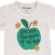 Mini Rodini Body Apfel aus Bio-Baumwolle -listing
