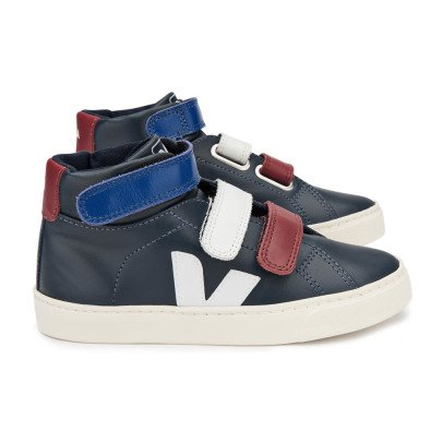 Veja Esplar Leather Velcro High Top Trainers-product