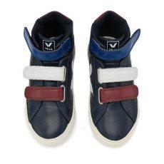 Veja Zapatillas Altas Velcro Tricolor Cuero Esplar -listing